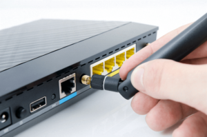 Image of configuring router