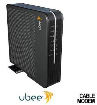 Ubee DVW3201B router login