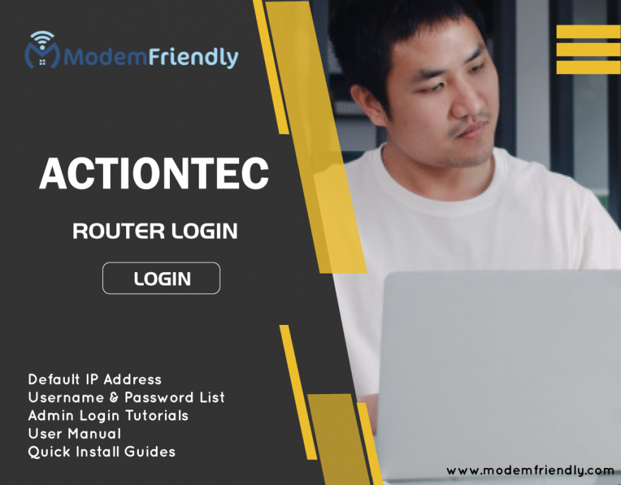 Actiontec Default Login - Username, Password and IP Address