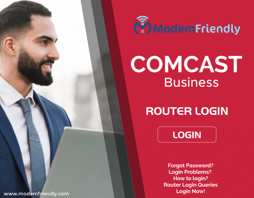 How to Comcast Business Router Login