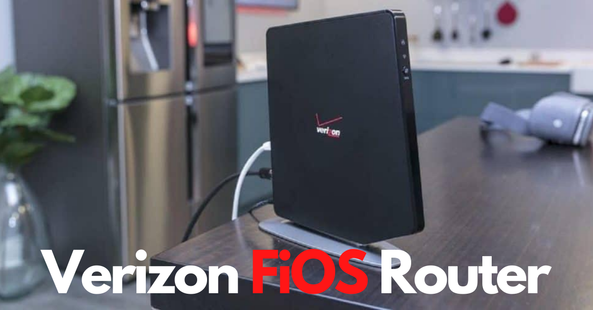 Verizon FiOS Router Login