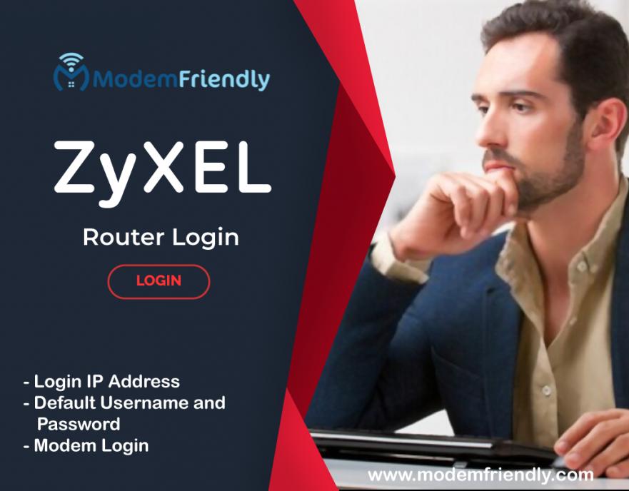 zyxel router login