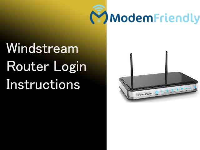 Windstream Router Login Guide